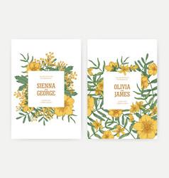 bundle wedding party celebration invitation vector image