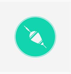 floating bobber icon sign symbol vector image