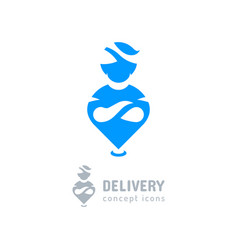 Location icon delivery symbol aladdin icon genie vector