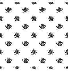 rose pattern seamless vector image
