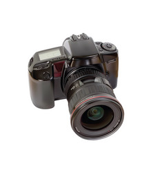 analog slr camera vector image vector image