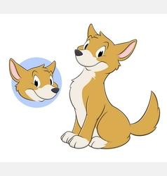 Cartoon Dingo vector image vector image