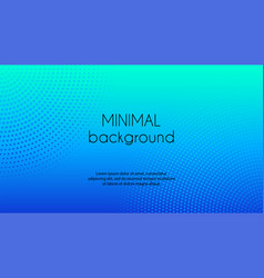 blue gradient minimal background vector image