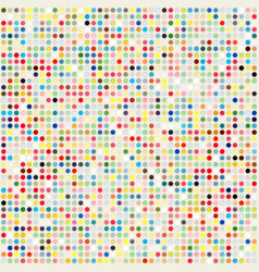 Colored dots background template vector