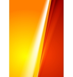 Contrast abstract red orange gradient background vector
