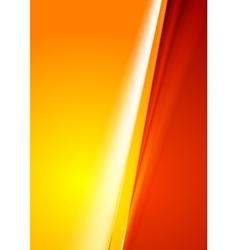 Contrast abstract red orange gradient background vector