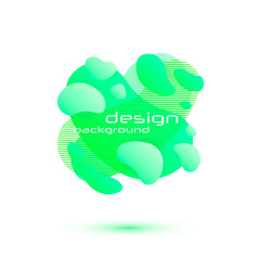 dynamic fluid design vector image