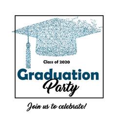 Graduation party - invitation vector