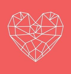 HEART SHAPE11 vector image