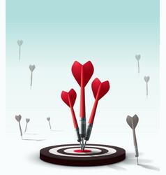 Hitting Target vector