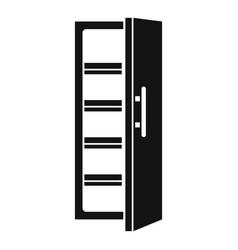 kitchen fridge icon simple style vector image