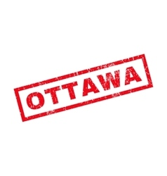 Ottawa Rubber Stamp vector