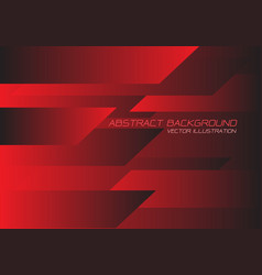 red black speed geometric technology vector image