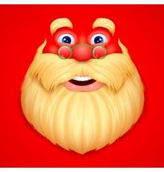 Santa Claus doing ho ho ho vector