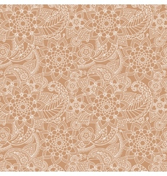 Seamless paisley background vector image vector image