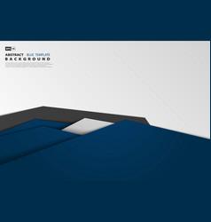 Abstract tech gradient blue overlap business vector