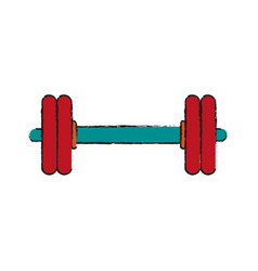 fitness and health icon vector image