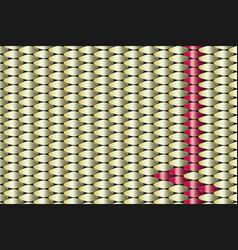 golden copper metallic geometric pattern vector image