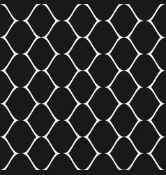 Mesh seamless pattern lattice lace fishnet vector