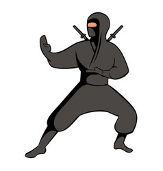 Ninja icon icon cartoon vector