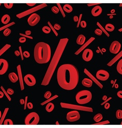 Percentages 3d pattern eps10 vector