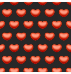 Seamless heart love background vector