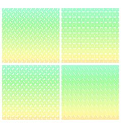 Seamless Pastel abstract zigzag patterns vector image