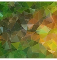 yellow green abstract colorful background vector image