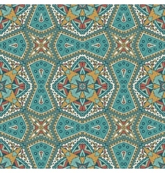 arabesque mosaic seamless pattern vector image
