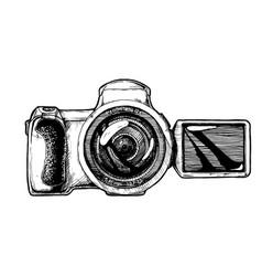 bridge camera vector image