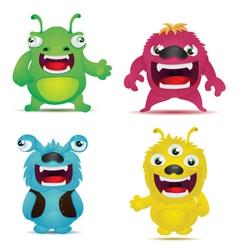 Monster Virus vector image vector image
