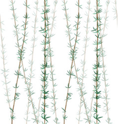 bamboo plant leaves pattern-01 vector image