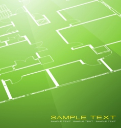 architecture plan vector image