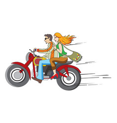 Bike ride vector