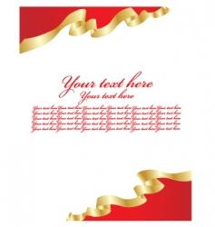 blank letter vector image