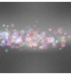 Blurry abstract bokeh EPS 10 vector