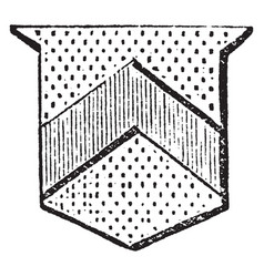 Chevron is supposed to represent the rafters of vector
