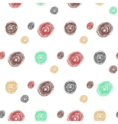 circle pattern Abstract background with vector image