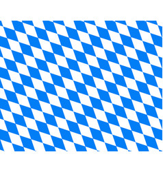 Colored flag of bavaria vector