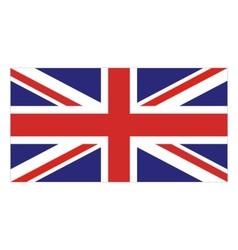 Flag united kingdom vector