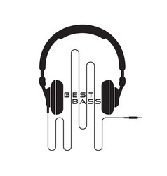 Headphone icon sign vector