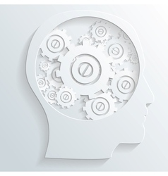 mechanism in head vector image