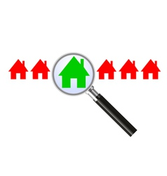 Searching for a house vector