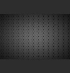 structured dark metallic perforated background vector image