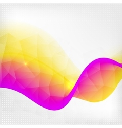 Abstract colorful line background vector image