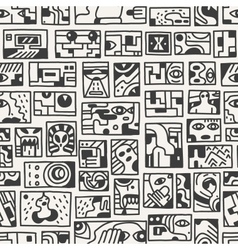 fantastic story - seamless pattern vector image