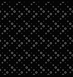 Abstract ring pattern background - monochrome vector