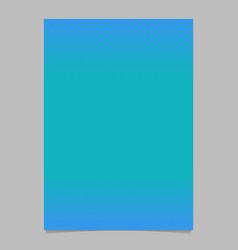 blue retro abstract halftone pattern brochure vector image