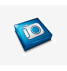 camera web icon vector image