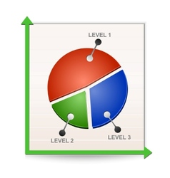 chart reports vector image